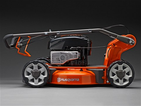 husqvarna benzin rasenm her lc 353v m her 53cm schnittbreite motorm her antrieb ebay. Black Bedroom Furniture Sets. Home Design Ideas